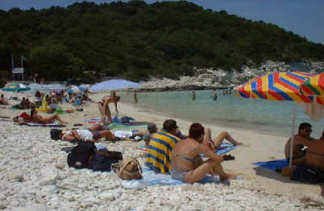 Vrika Beach Anti Paxos (First Beach)