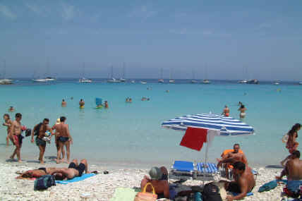 Anti Paxos Voutoumi Beach