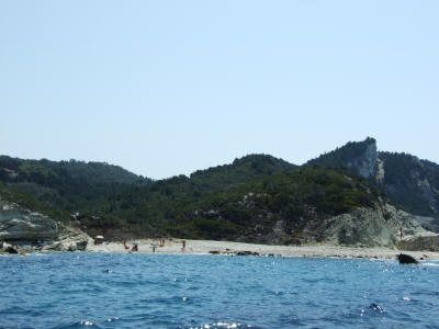 Plani Beach West Coast of Lakka